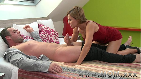 mother black hair milf gives her hubby a reason for female friendly