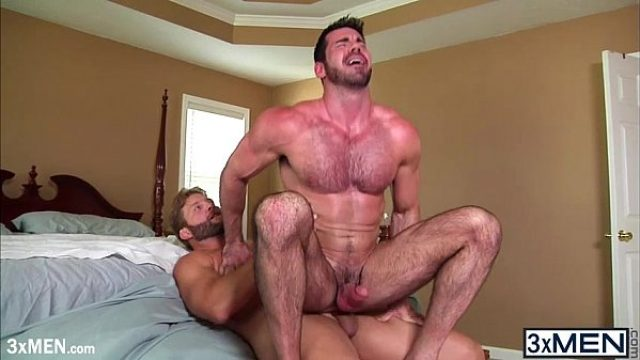 giant fat dudes billy santoro bounces his rou pornstar gay