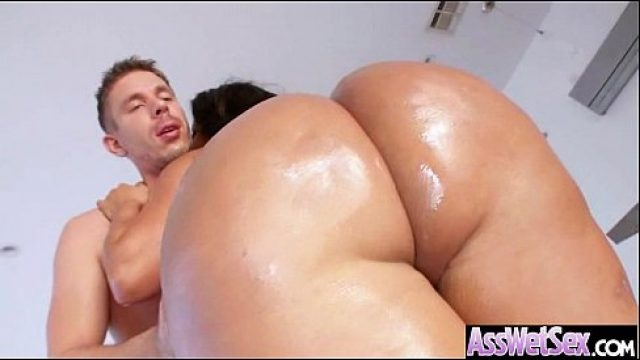Big Ass Sex kiara mia big butt cousin get oiled and anal on c