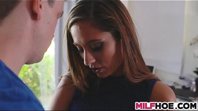 Big Cock Young becoming a husband through curvy milf