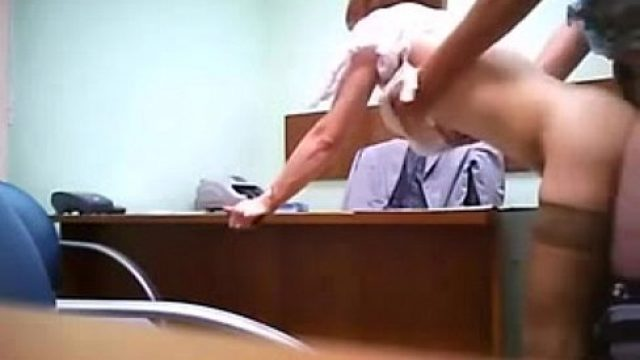 Office Sex sex the bureau hidden camera very shameless to w