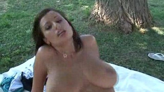 Outdoor Sex outdoor sex massive boobs how special this is per