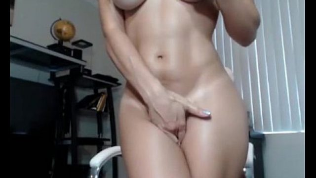 Perfect Pussy blonde tooth doll in showing he