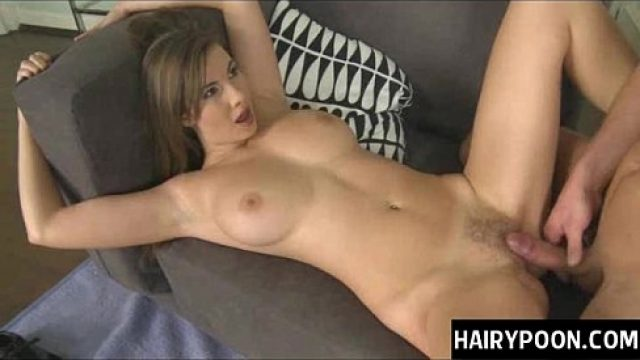 Perfect Pussy gorgeous girl with huge natural nipples gets
